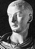 A bust of the Emperor GordianIII
