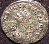 coin of Carus (c)2001 VCRC