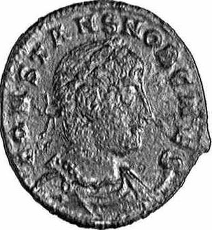 Coin with the image of Constans I (c)1998 CGB numismatique, Paris