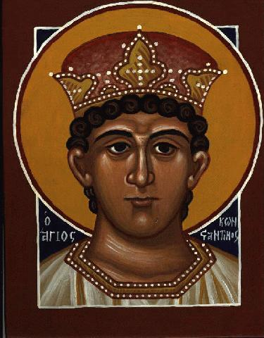 A Icon of Saint Constantine