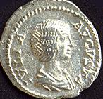 Coin image of Julia Domna (c)2001, VCRC