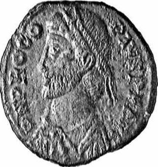 Coin with the image of Procopius (c)1998 CGB numismatique, Paris